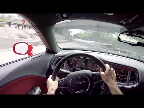 2015 Dodge Challenger SRT Hellcat – WR TV POV City Drive