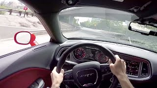 2015 Dodge Challenger SRT Hellcat - WR TV POV City Drive