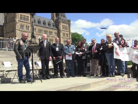 Ottawa  Ride 2 Remember, Never again Pledge