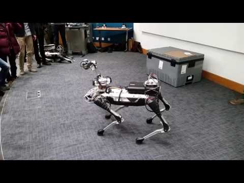Download Youtube: Boston Dynamics SpotMini Demo at UCL