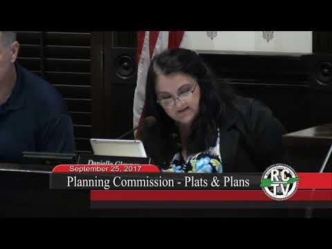 Planning Commission - September 25, 2017