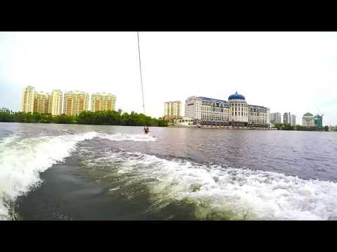 Wakeboarding at Mines Resort Malaysia