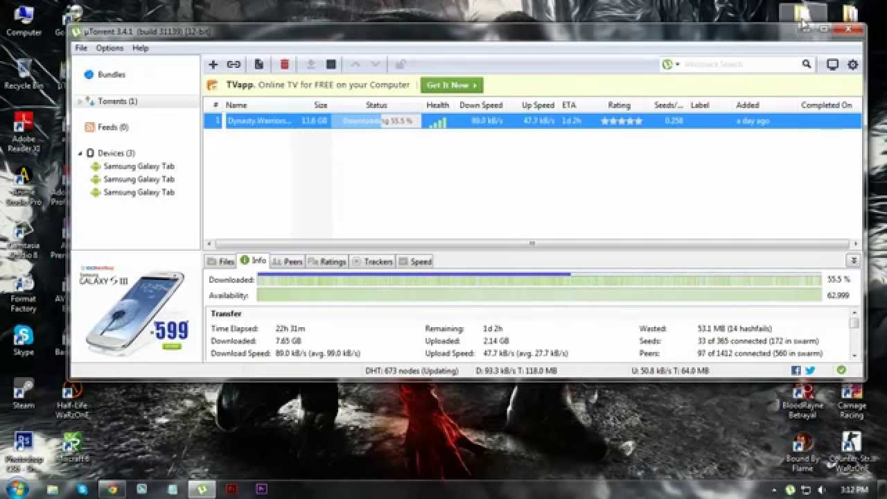 [Audio tutorial] How to Download files from torrent sites