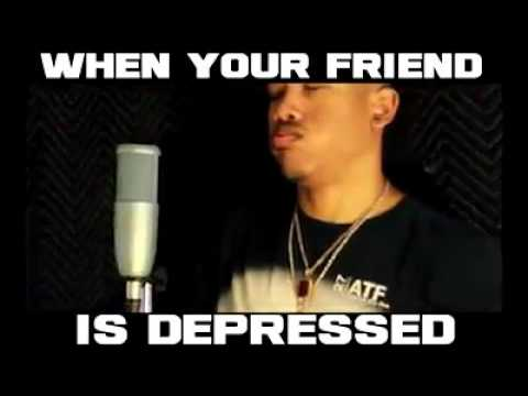 When your friend is depressed