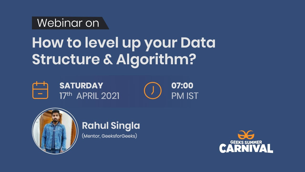 How to Level Up Your Data Structures & Algorithms