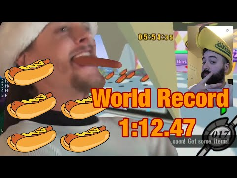 [WR] Kirby Air Ride - 5 Hot Dogs In 1:12.47