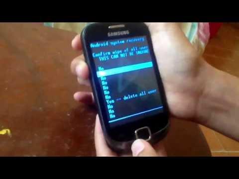 Como reiniciar un Samsung Galaxy Fit,mini etc