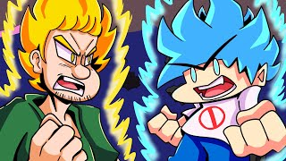BOYFRIEND vs. SHAGGY?! Friday Night Funkin' Logic | Cartoon Animation screenshot 3