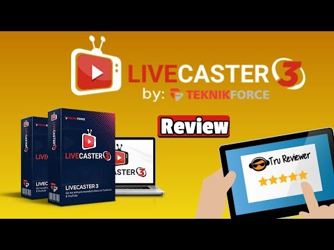 Livecaster 3 Review -WARNING DON'T Miss this Review and Mega Bonus!. http://bit.ly/2Zl4xEJ