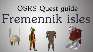 [OSRS] The Fremennik isles quest guide