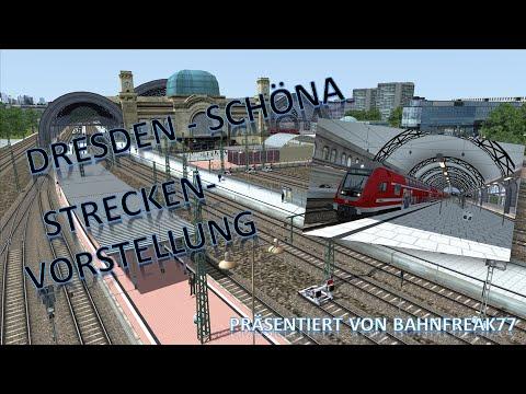 Dresden - Schöna - Streckenvorstellung - Train Simulator 2015