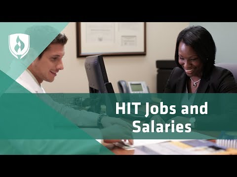 Jobs and Salaries in Health Information Technology