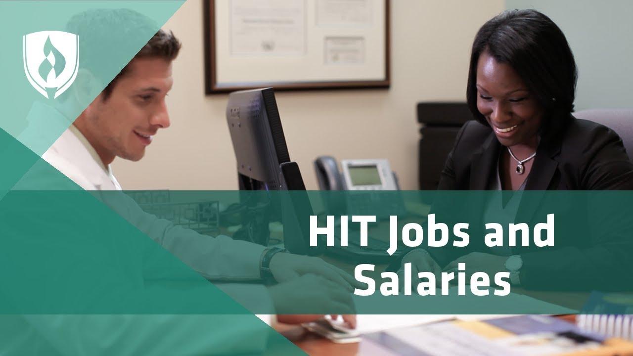 Health Information Technology Salaries Job Opportunities Career