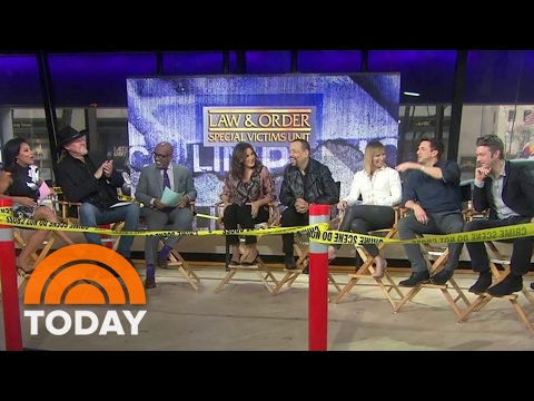Mariska Hargitay, Ice-T, 'Law & Order: SVU' Stars Celebrate Its 400th Episode | TODAY
