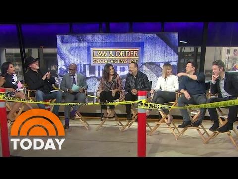 Mariska Hargitay, IceT, 'Law & Order: SVU' Stars Celebrate Its 400th Episode  TODAY