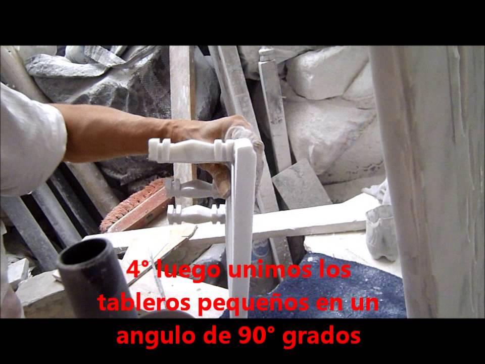 Como hacer una mesa de marmol youtube for Como hacer marmol