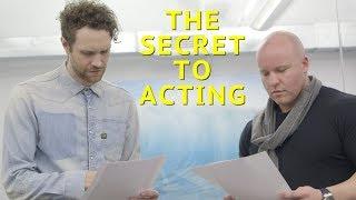 The Secret to Acting w/ Tank Sinatra