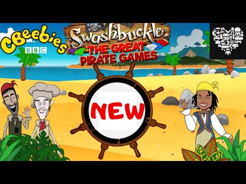 CBEEBIES SWASHBUCKLE The Great Pirate Games NEW Full Game