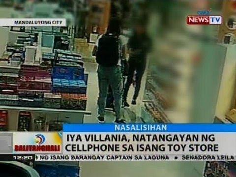 Iya Villania, natangayan ng cellphone sa isang toy store