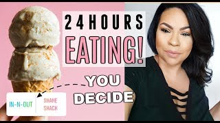 Instagram Controls What I Eat for 24 hours! Sensational Finds