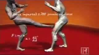 Обучение правильные удары ногами руками комбинации 4