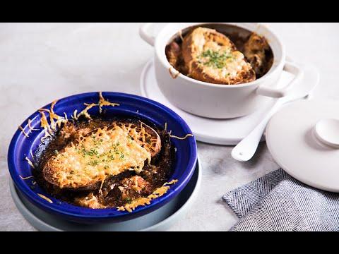 ซุปหัวหอม French onion soup - วันที่ 17 Jun 2019