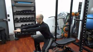 BOX SQUAT A CORPO LIBERO