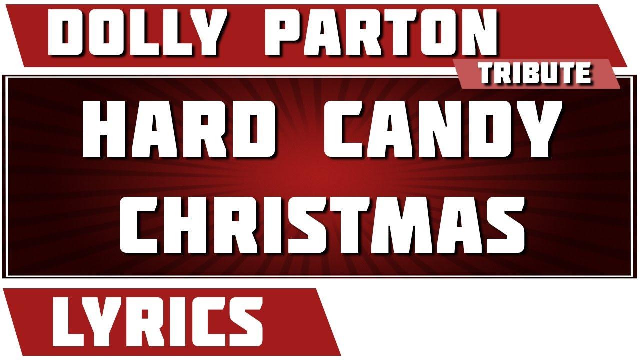 Hard candy christmas dolly parton lyrics