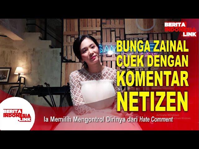 Bunga Zainal Bereaksi Didoakan Cerai