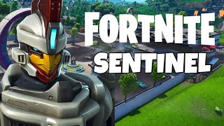 Fortnite Season 9 NEW SENTINEL Skin Gameplay!