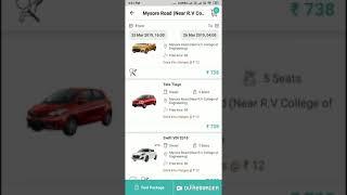 Drivezy self drive car screenshot 5