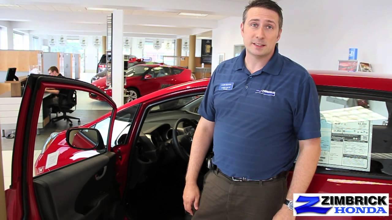Madison Wisconsin 2013 Honda Fit Video Presentation By Chad At Zimbrick  Honda