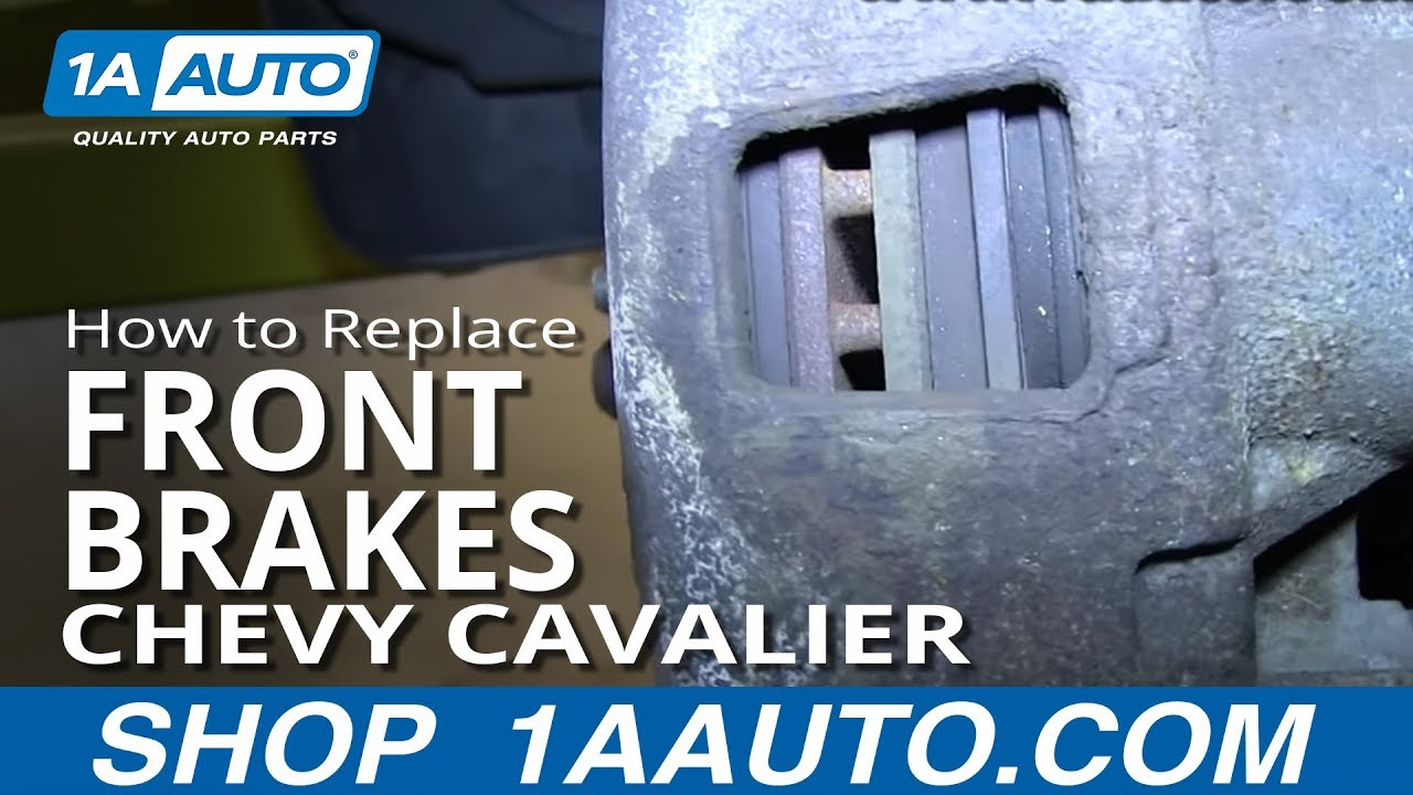 medium resolution of how to replace front brakes 92 05 chevy cavalier