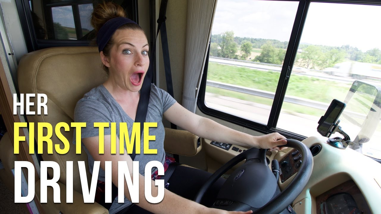First Time Driver >> Marissa S First Time Driving A Motorhome Our Rv Life Youtube