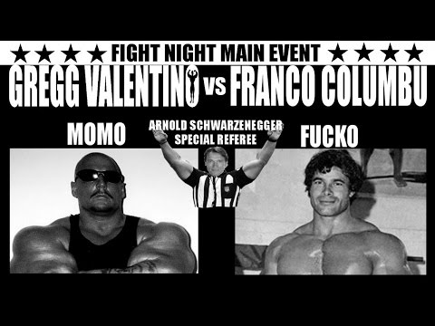 FRANCO COLUMBU vs GREGG VALENTINO STORIES ,,,, OH YEAH BABE, IT'S ON NOW!!!