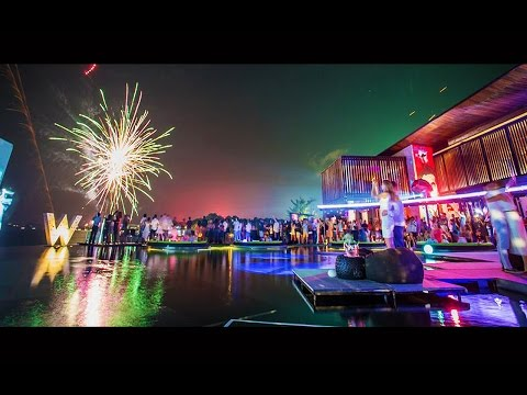 New Year Eve celebration at W RETREAT KOH SAMUI
