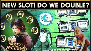 *NEW SLOT* BONUSES GALORE on LORD OF THE RINGS SLOT MACHINE - RULE THEM ALL!