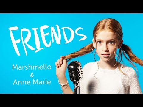 Marshmello & Anne-Marie - Friends (Cover by Baginska)