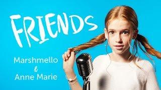 Marshmello & Anne-Marie - Friends (Anastasiya Baginska Cover)