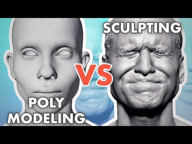 Poly Modeling vs Sculpting - Which is Better?