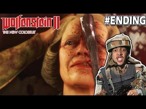 Menyerang Stasiun TV Nazi - Wolfenstein 2 - Indonesia ENDING
