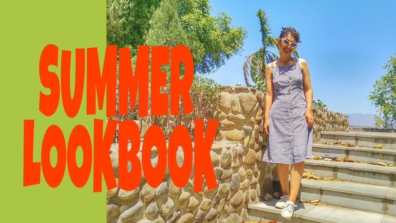 Summer Lookbook | Summer Outfits Ideas | Linen pants, Gingham, Florals