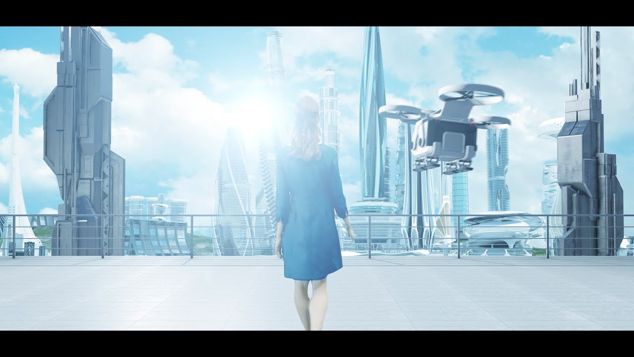 Drone City Girl