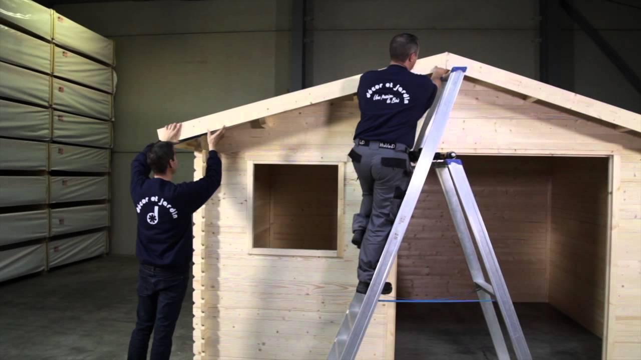 Instalación caseta lamas - Bricor - YouTube