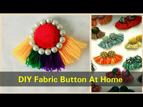how to Make Latest Fabric Button At Home For Kurties - Simple & Easy Method 2017 - DIY