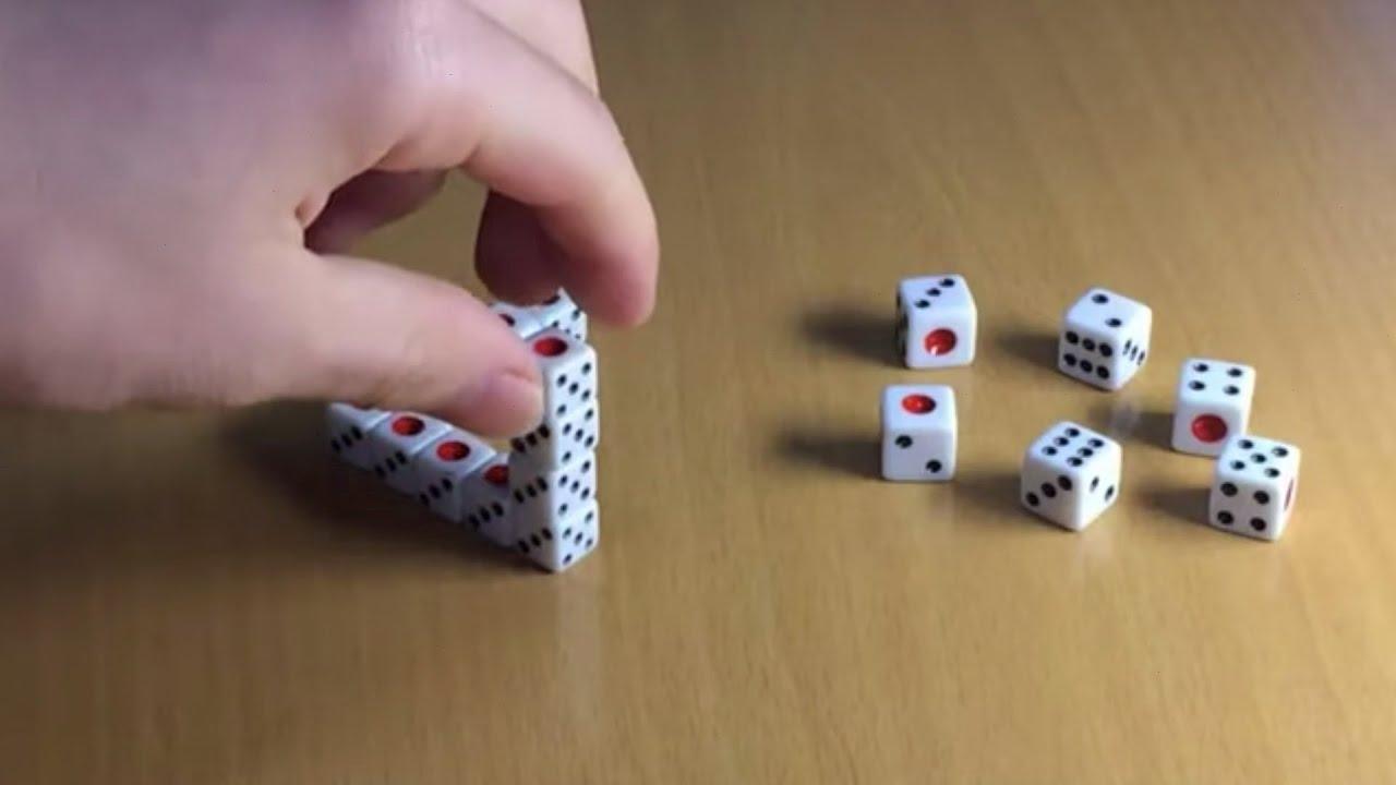 Dice Triangle Illusion  Make The Impossible Possible