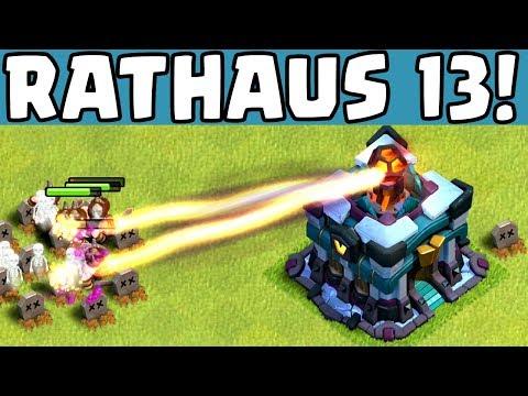 RATHAUS 13! ☆ Clash Of Clans ☆ CoC