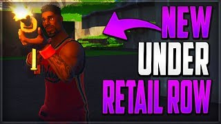GLITCHES FORTNITE BATTLE ROYALE - NEW UNDERGROUND WALLBREACH GOD MODE GLITCH RETAIL ROW FORTNITE BR