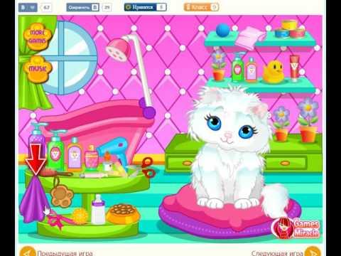 игра Уход за животными: Ванна для кошечки