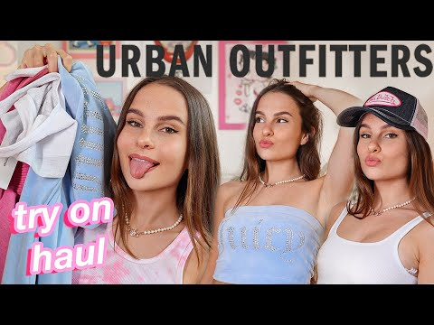 NEW Urban Outfitters TRY ON HAUL!! Cute, Summery, Y2k Clothes